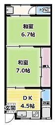 [テラスハウス] 大阪府門真市下島町 の賃貸【/】の間取り