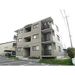 福島県郡山市富田東3丁目の賃貸マンションの外観