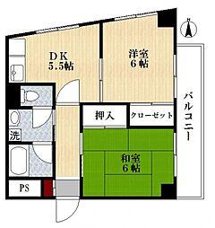 フォレット江戸川[3階]の間取り