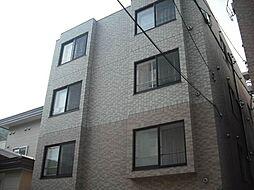 北海道札幌市中央区南四条西26丁目の賃貸マンションの外観