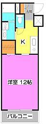 埼玉県ふじみ野市鶴ケ舞2の賃貸アパートの間取り