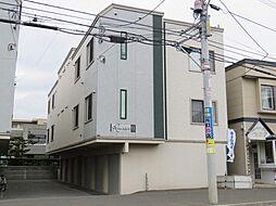レユシールN12弐番館[1階]の外観