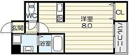アダージェ小路[2階]の間取り