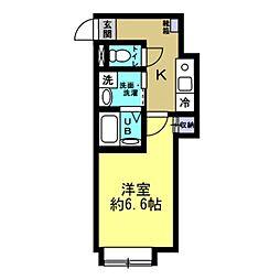 NOZOMIO目白 1階1Kの間取り