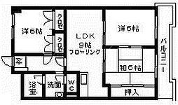 ウィンズビラ30[3階]の間取り