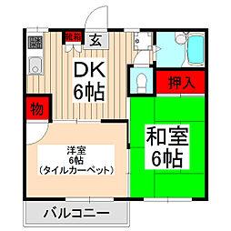 WJ・W−18[2階]の間取り