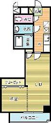 堺町センタービル[903号室]の間取り