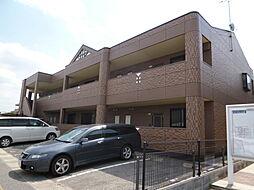 岡山県総社市三輪の賃貸アパートの外観