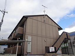 兵庫県西脇市野村町字大門の賃貸アパートの外観