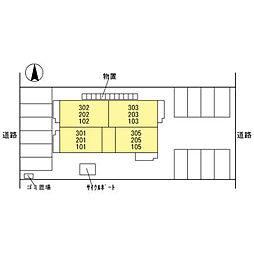 仮)D-room本町[3階]の外観