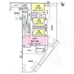桜上水駅 25.0万円