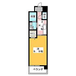ショコラIII[3階]の間取り