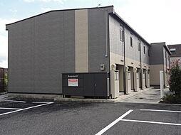 埼玉県入間郡毛呂山町前久保南4丁目の賃貸アパートの外観