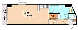 ライジング・サン・プラザ[2階]の間取り