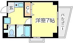 メゾンフィオーレ[4階]の間取り