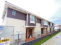 埼玉県所沢市大字上安松の賃貸アパートの外観