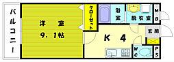 NAUI&PADI48[1階]の間取り