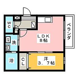 N'sタウン大須[1階]の間取り