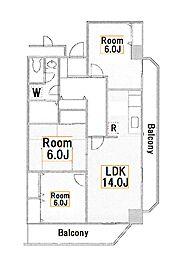 VIP大島[2階]の間取り