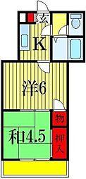 メゾンラビット[2階]の間取り