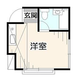 東京都西東京市下保谷2丁目の賃貸アパートの間取り
