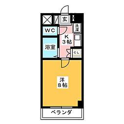 笠寺ハウス[2階]の間取り