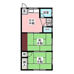 佐藤アパート[2階]の間取り