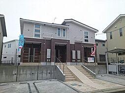 神奈川県平塚市真田2丁目の賃貸アパートの外観