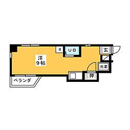 錦2丁目ビル[3階]の間取り
