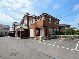 大阪府堺市美原区大饗の賃貸アパートの外観