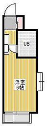 ジュネパレス新松戸第14[8階]の間取り