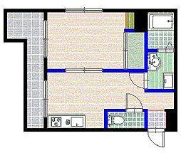 平野ビル[5階]の間取り