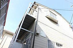千葉県市川市八幡1丁目の賃貸アパートの外観
