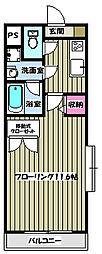 パークサイド松木[3階]の間取り
