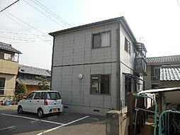 愛媛県松山市御幸2丁目の賃貸アパートの外観