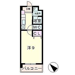 イストアール[2階]の間取り