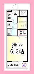 湘南ファーストライフ[3階]の間取り