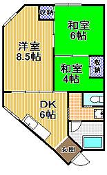新谷マンション[3階]の間取り