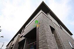香川県高松市香西北町の賃貸アパートの外観