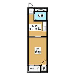 サンパレス覚王山II[4階]の間取り