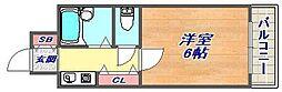 兵庫県神戸市東灘区御影本町4丁目の賃貸マンションの間取り