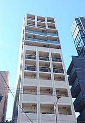 東京都新宿区市谷薬王寺町の賃貸マンションの外観