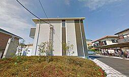 神奈川県茅ヶ崎市小和田3丁目の賃貸アパートの外観