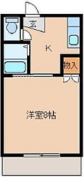 Y's room花畑[1階]の間取り