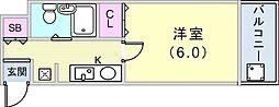 駒ヶ林駅 3.9万円