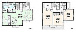 建物参考プラン:間取り/3LDK、延床面積/87.48?、建物参考価格/1200万円(税込)
