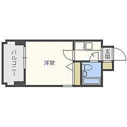 ラ・レジダンス・ド・レーヌ[8階]の間取り