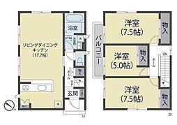 [一戸建] 埼玉県川口市芝高木1丁目 の賃貸【/】の間取り