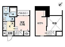 PACE 〜パーチェ〜 香椎[2階]の間取り