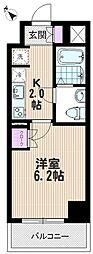 リヴシティ武蔵浦和[1304号室]の間取り